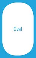 ovalo formos baseinas