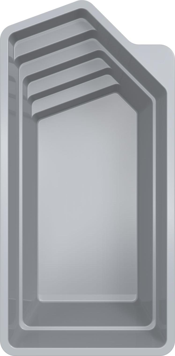 Stiklo pluosto baseinas Flash