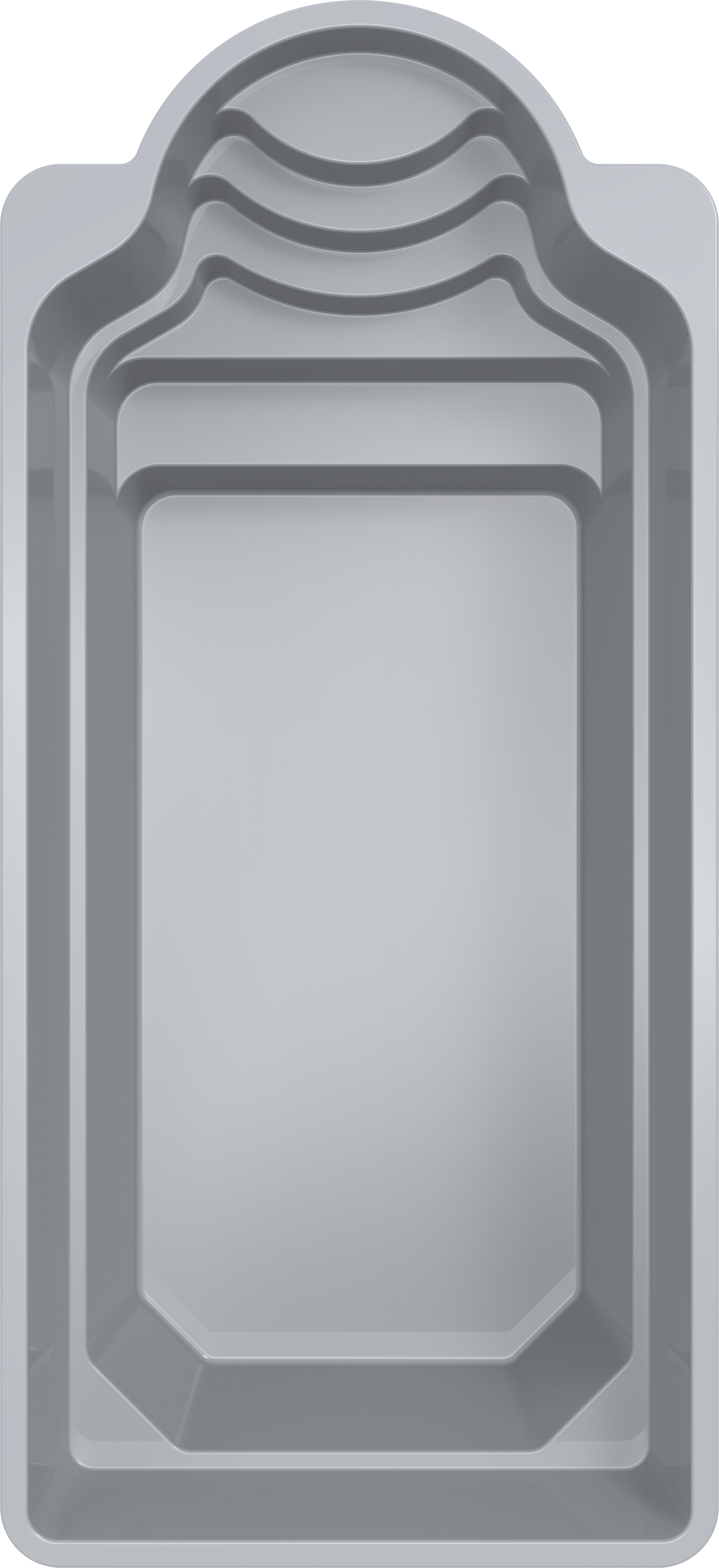 Stiklo pluosto baseinas Halo 8