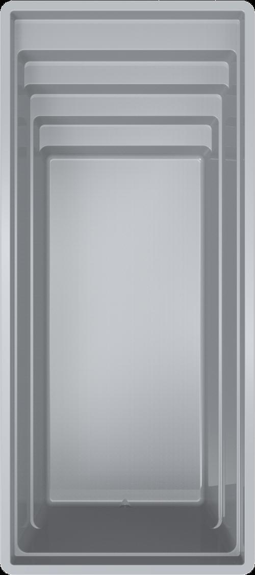 Stiklo pluosto baseinas HDA