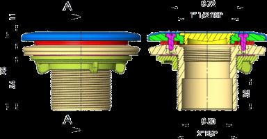 00332-vakuminės-žarnos-pajungimas-matmenys