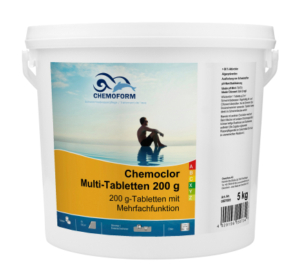 Chemochlor multi tabletten 200g 5kg