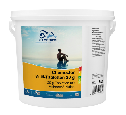Chemochlor multi tabletten 20g