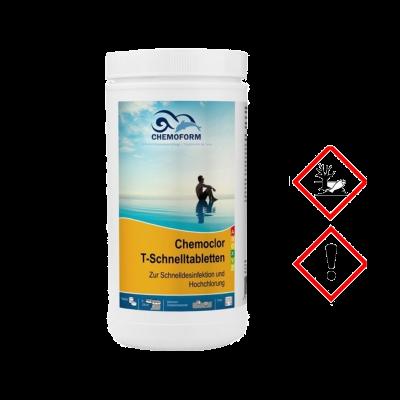 Greitai tirpstantis chloras tabletemis 1kg