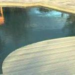 Montavimo sistema skirta, kai baseine yra paaukštintas vandens lygis CSY008