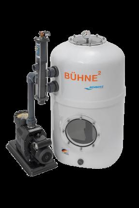 Buhne filtras su siurbliu ir Besgo ventiliu