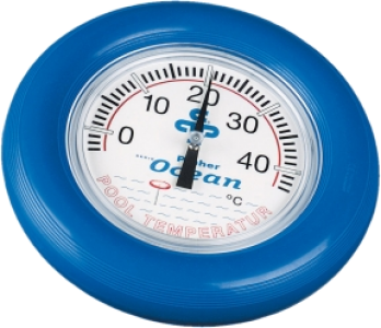 Termometras apvalus